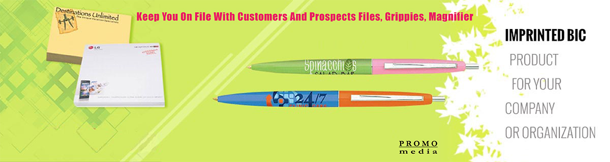 custom imprinted BicClic Pens