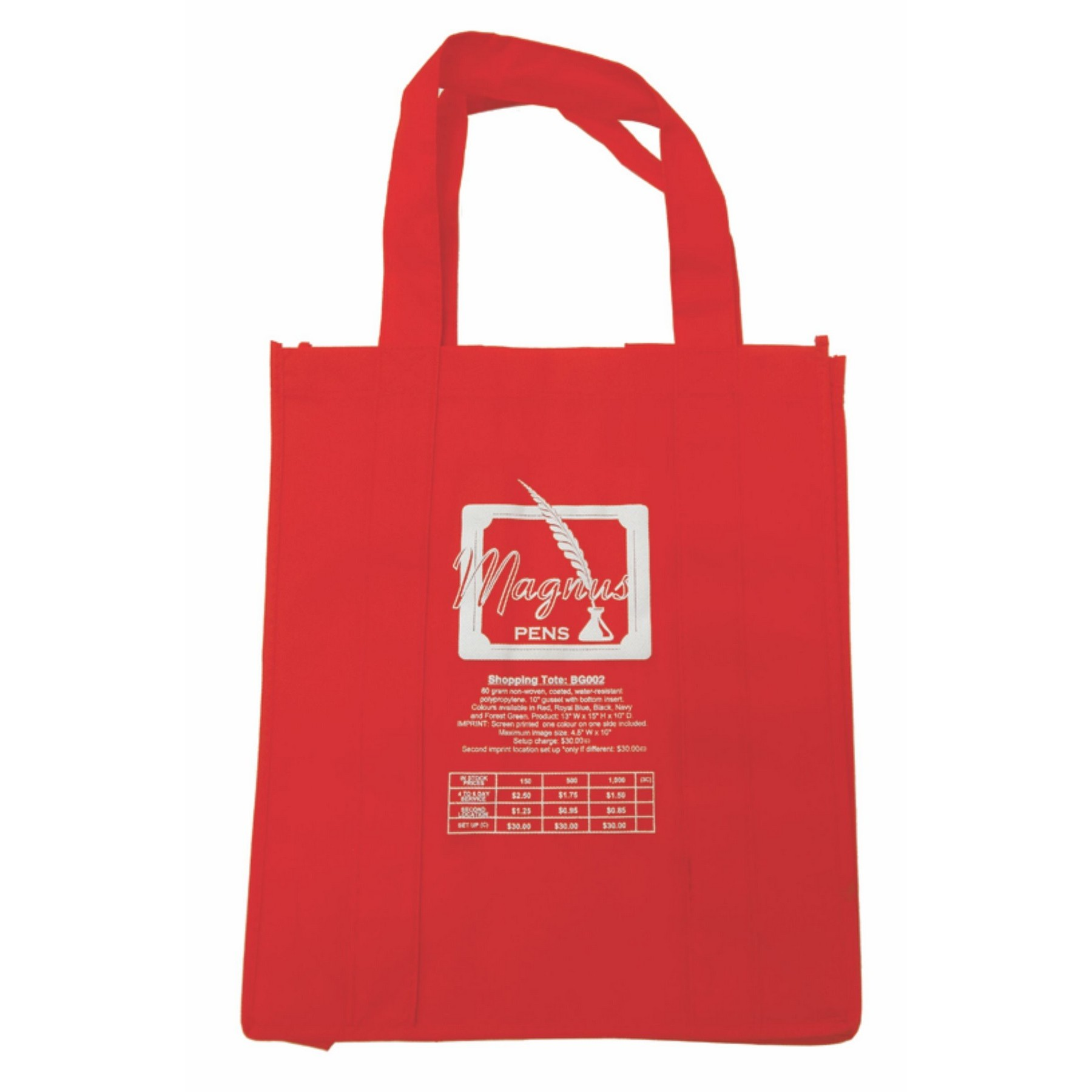 Shopping Tote ( 10-15 Days)